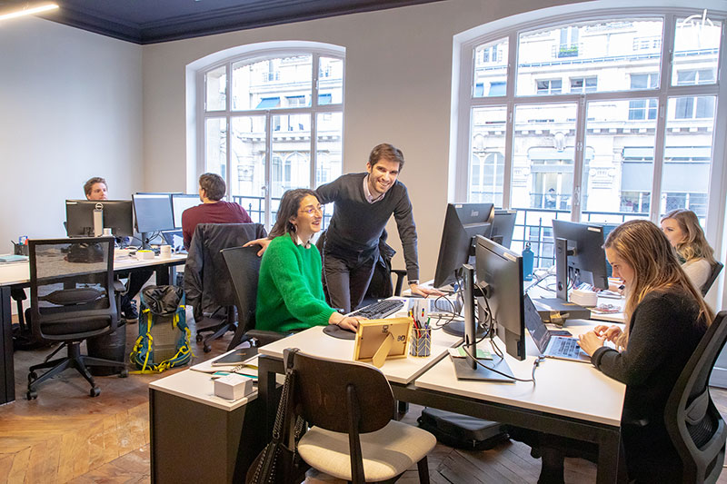 Talentoday team at work in the office