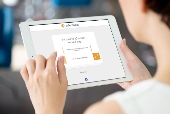 MyPrint Assessment on tablet