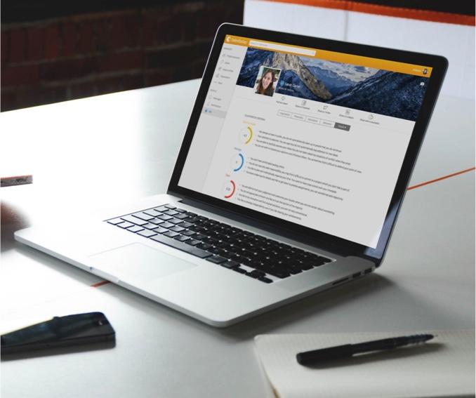 MyPrint Report on laptop screen